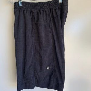 "Lululemon Men's Black 11"" Athletic CORE Shorts SML"